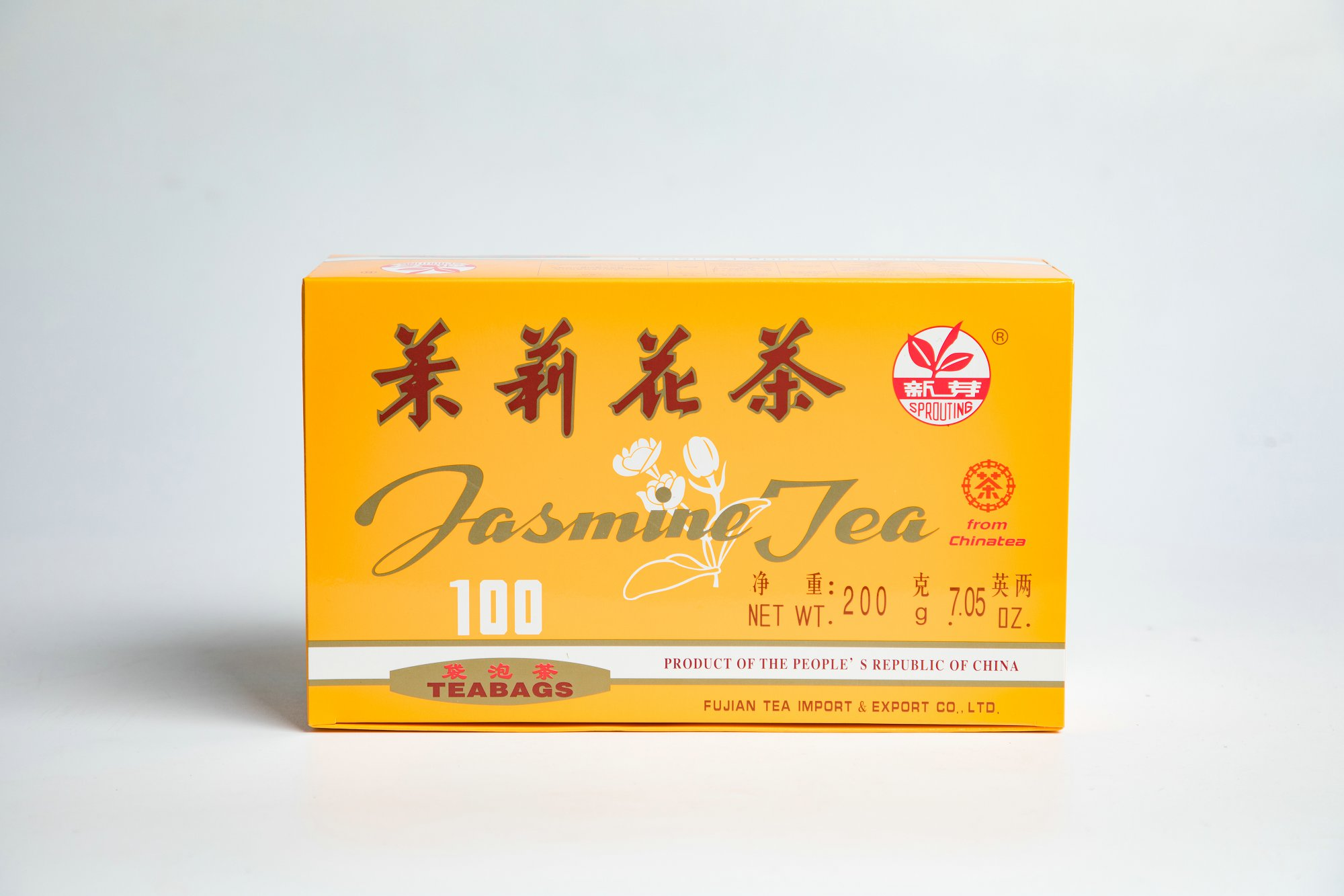 Jasmine Tea Bag #JT002 2GX100BAGS