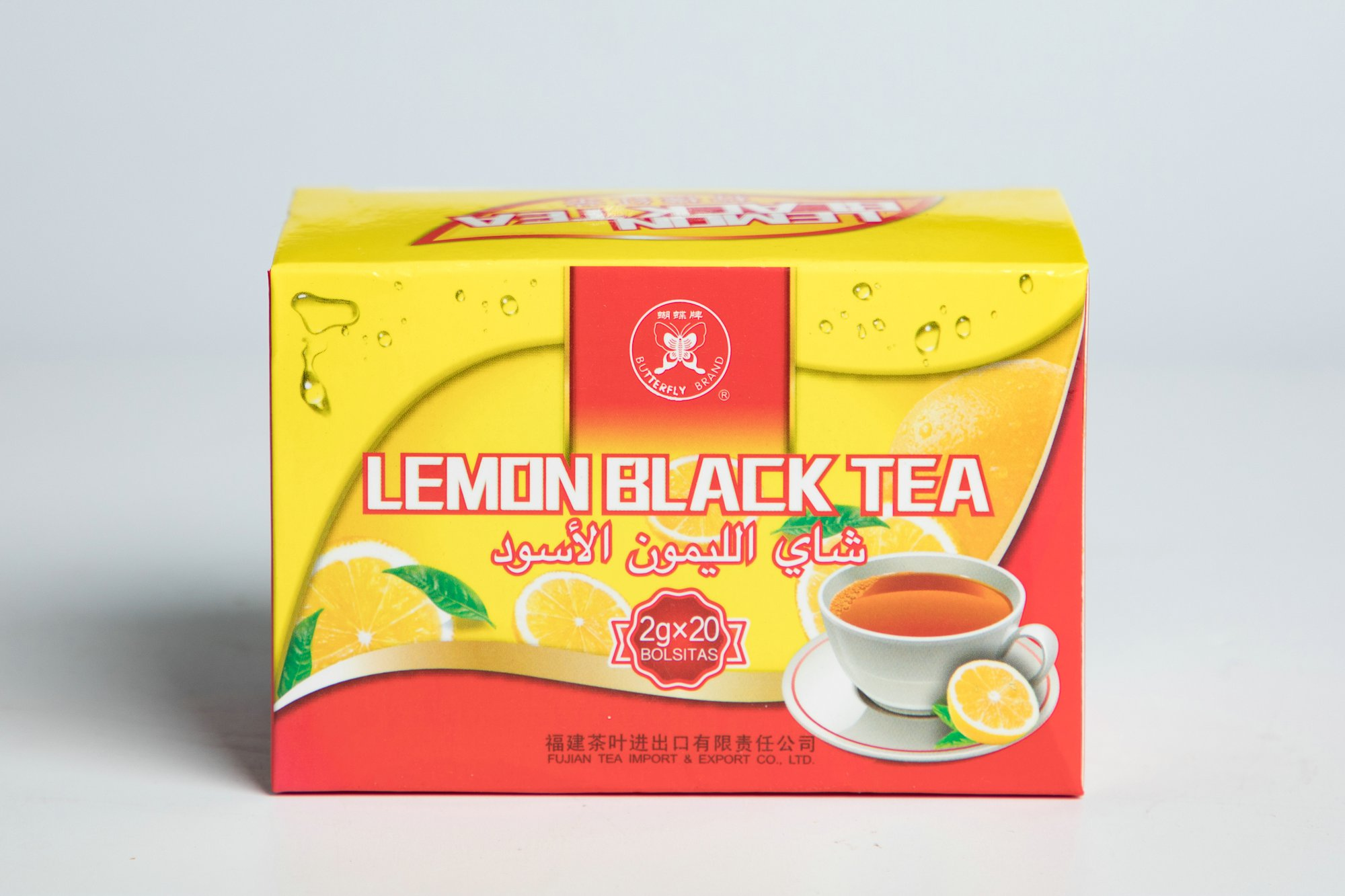 Black Lemon Tea Bag #BT912 2GX20BAGS