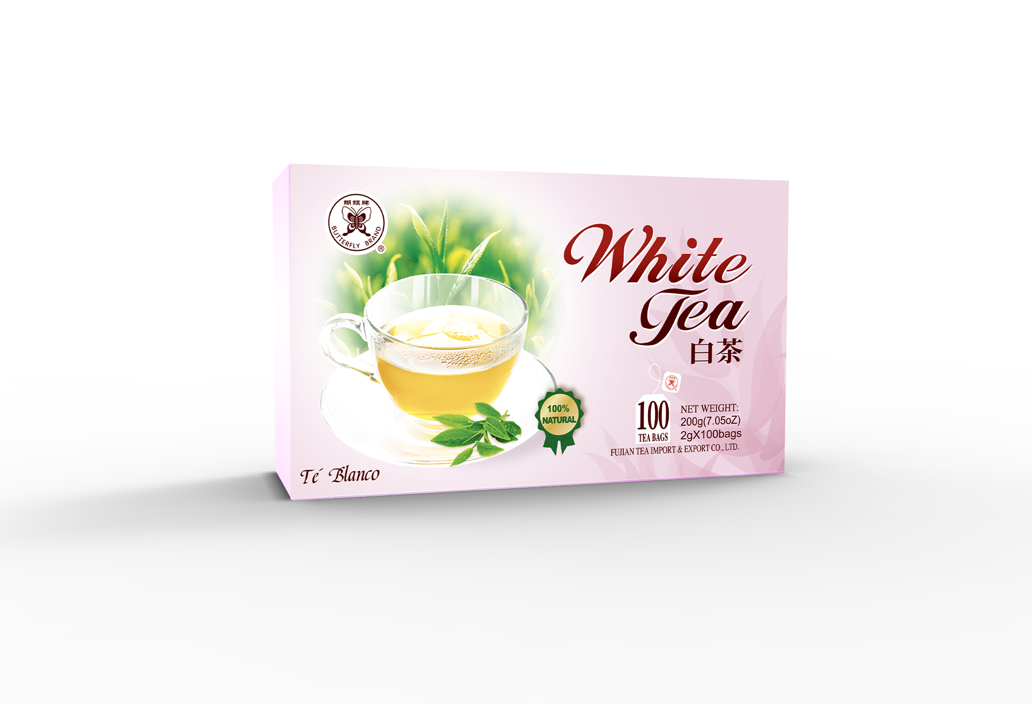 WHITE TEA BAG 2G*100BAGS #WT920